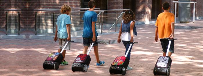 Рюкзак на колесах Nikidom XL Supergirl Испания арт. 9325 (27 литров), - фото 7