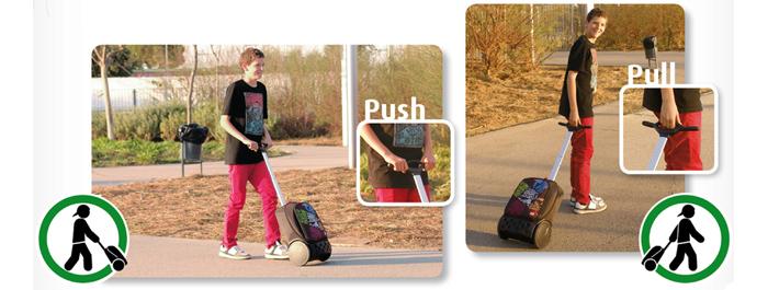 Рюкзак на колесах Nikidom XL Supergirl Испания арт. 9325 (27 литров), - фото 5