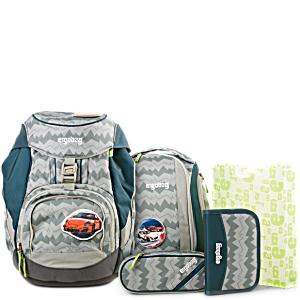 Рюкзак Ergobag BEARuckle up с наполнением + светоотражатели в подарок