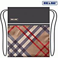 Мешок для обуви Mike&Mar Майк Мар, бежевый в клетку барбери (Burberry)