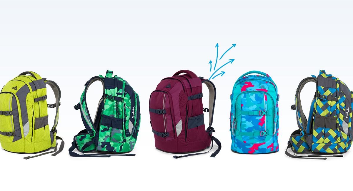 Satch Pack рюкзак для школьника цвет Beach Leach SAT-SIN-003-901, - фото 12