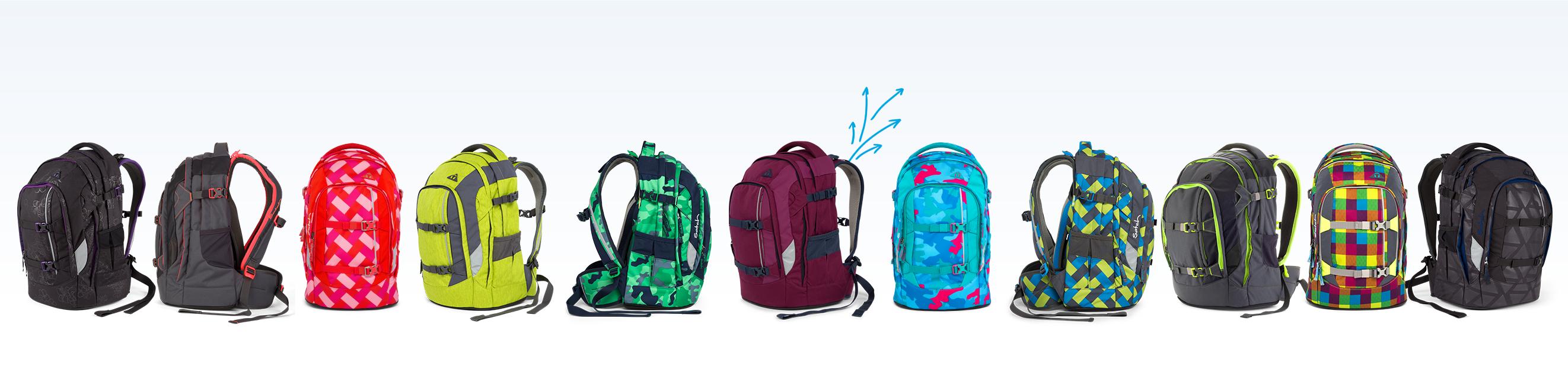 Satch Pack рюкзак для школьника цвет Beach Leach SAT-SIN-003-901, - фото 13
