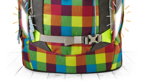 Satch Pack рюкзак для школьника цвет Beach Leach SAT-SIN-003-901, - фото 8