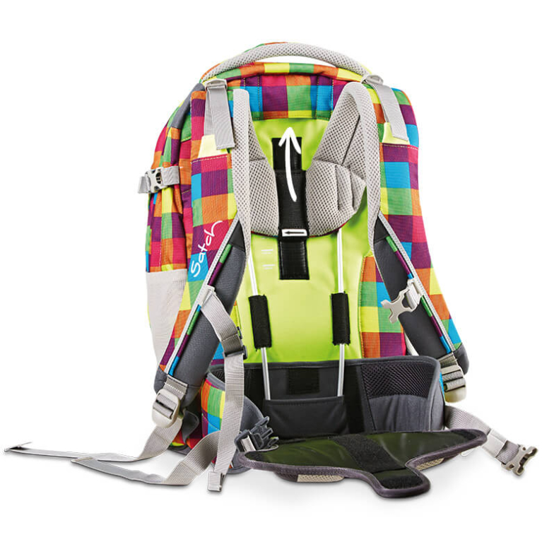 Satch Pack рюкзак для школьника цвет Beach Leach SAT-SIN-003-901, - фото 4