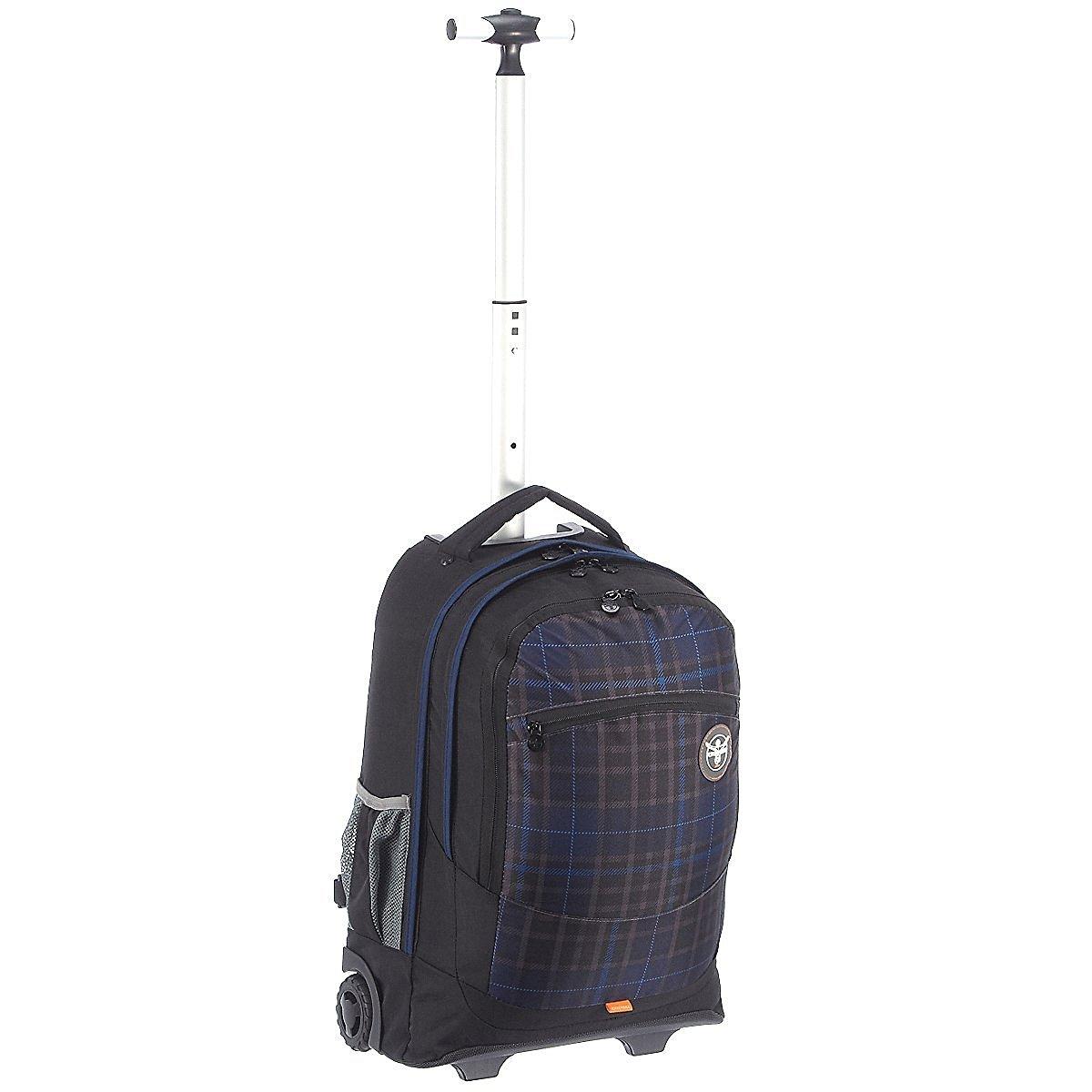 Рюкзак на колесах Chiemsee Клетка синяя, - фото 1