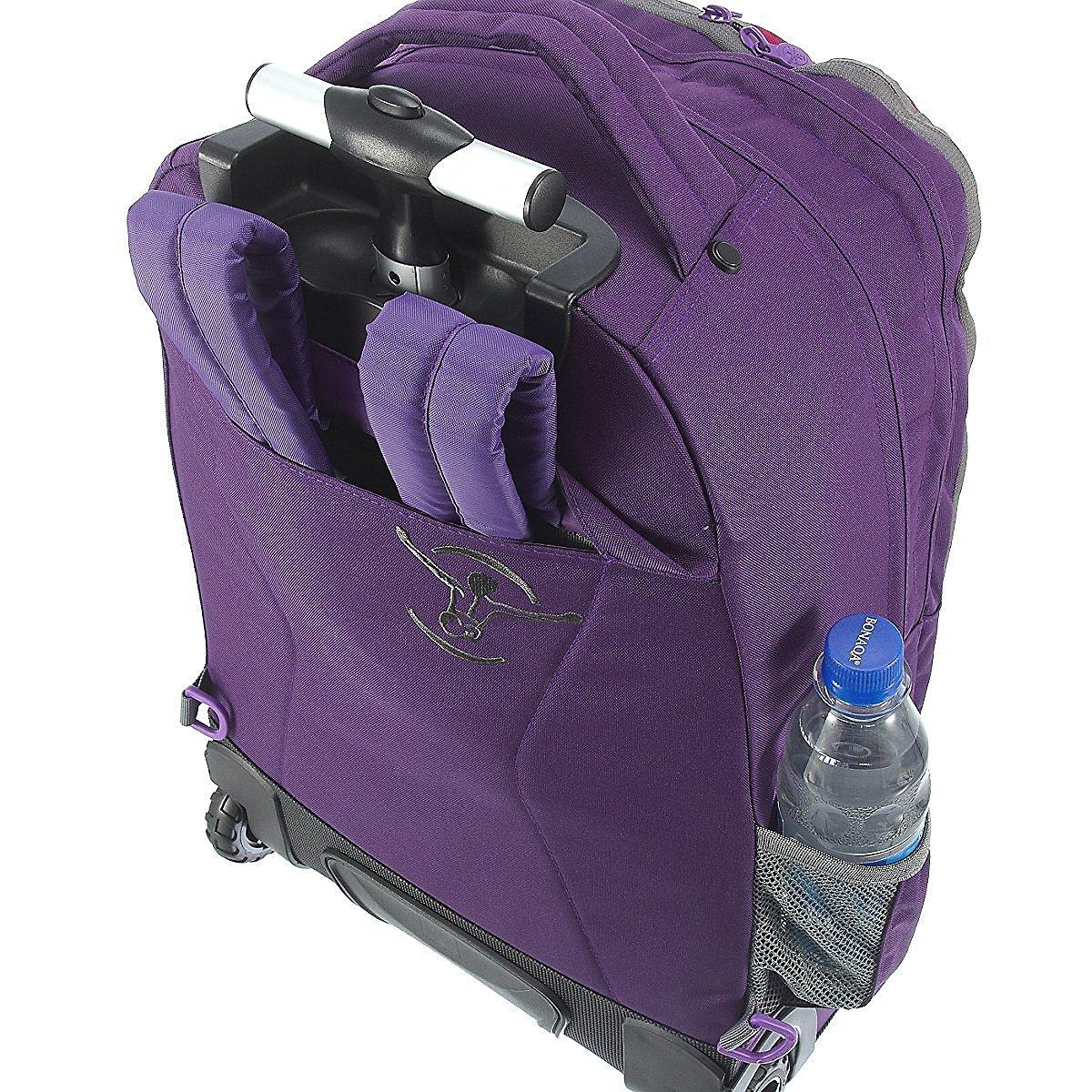 Рюкзак на колесах Chiemsee Клетка синяя, - фото 5