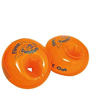 Детские нарукавники для плавания FLIPPER SwimSafe с неразрушаемым наполнителем из вспененного полиуретана