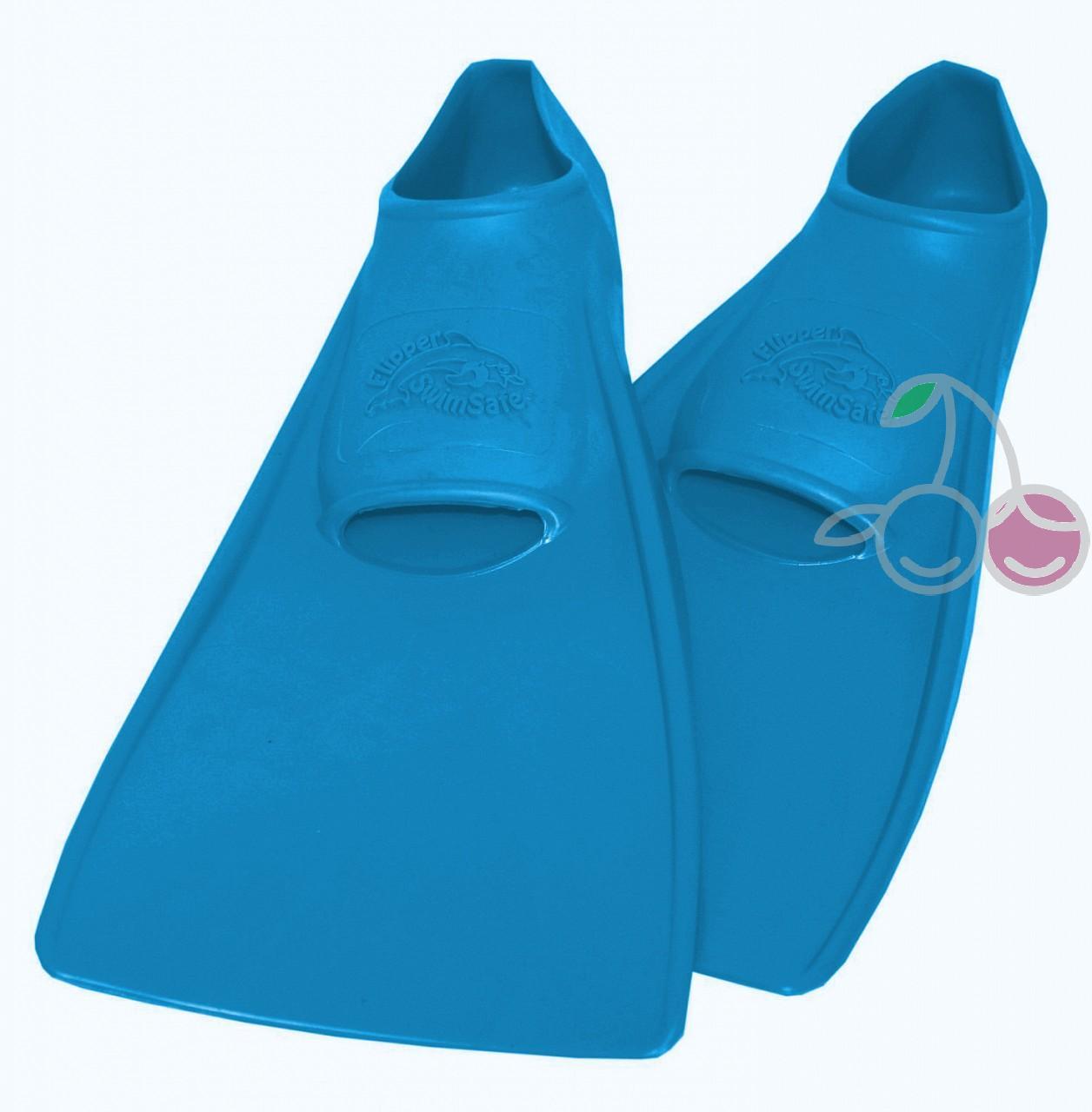 Ласты для бассейна резиновые детские размеры 21-22 синие ПРОПЕРКЭРРИ (ProperCarry), - фото 1