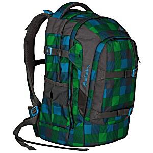 Рюкзак для мальчика зеленый Satch Pack Hip Flip SAT-SIN-002-9F8